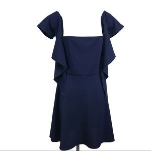 NSR Navy Blue Dress Size M Brand New
